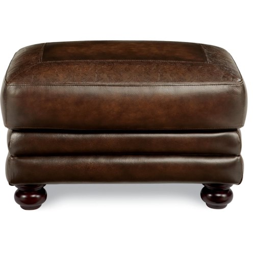 La-Z-Boy William Traditional Upholstered Ottoman