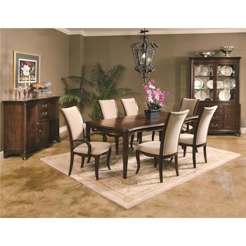 Morris Home Furnishings South Hampton 5pc Dining Set