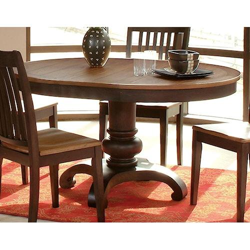 Morris Home Furnishings Grafton Dining Table Top & Base
