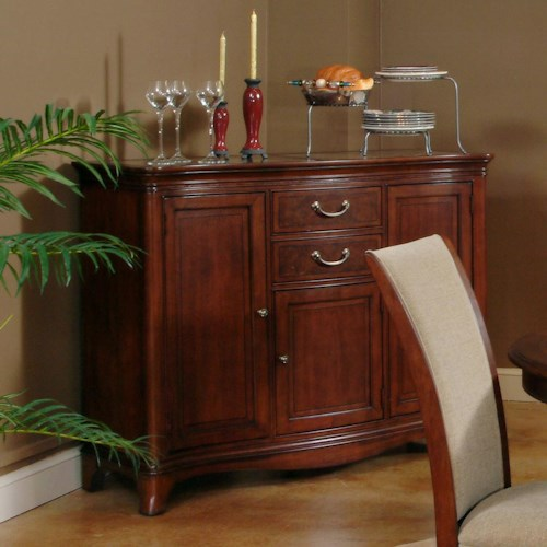 Morris Home Furnishings South Hampton Traditional Server