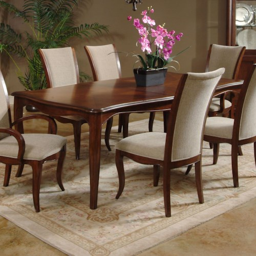 Morris Home Furnishings South Hampton Traditional Leg Table