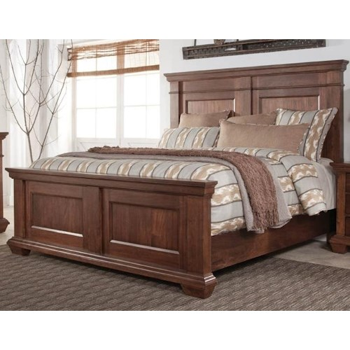 Morris Home Furnishings Windsor Queen Panel Bed