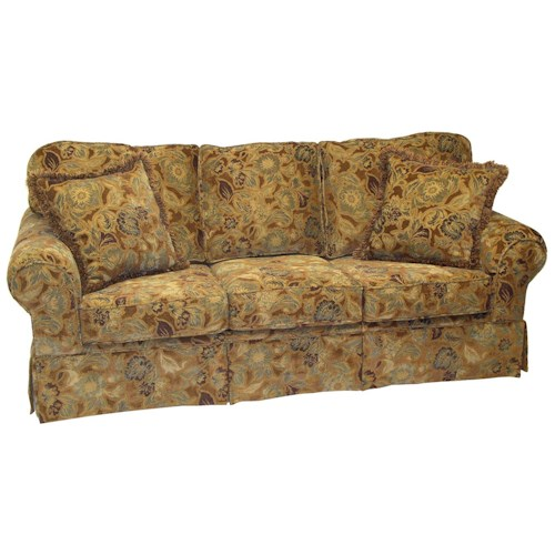 LaCrosse 471 Queen Size Sofa Sleeper with Traditional Furniture Style