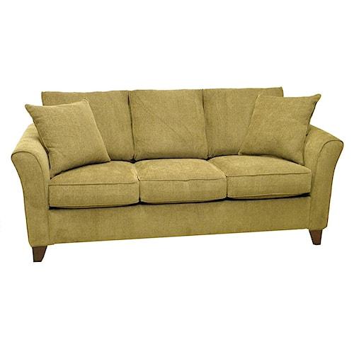 LaCrosse 514 Stationary 3-Seat Sofa