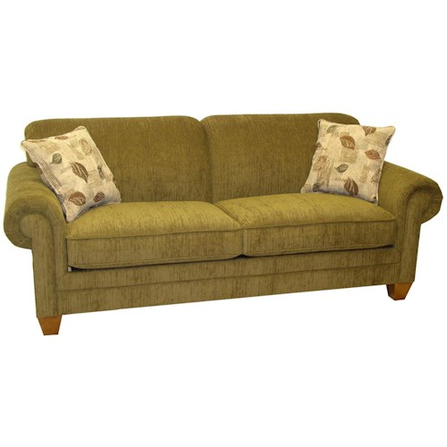LaCrosse 843 Tight Back Contemporary Stationary Sofa