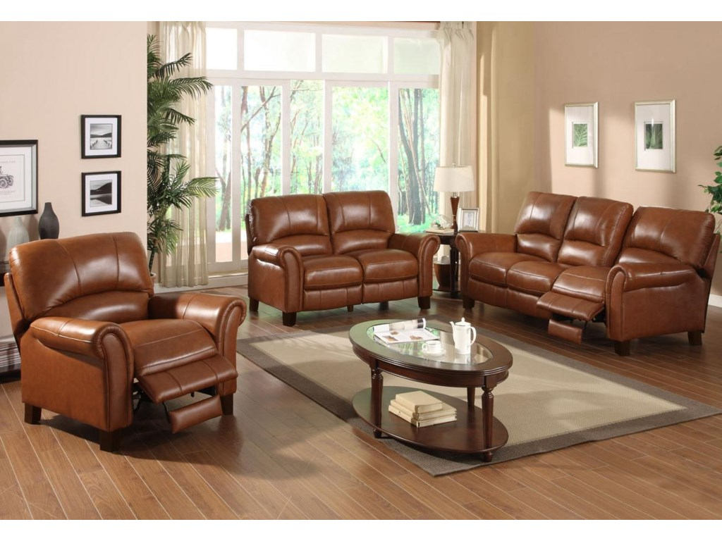 Shown with Recliner and Reclining Love Seat