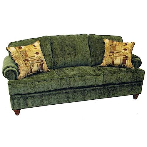 LaCrosse 904 Semi-Attached Pillow Back Sofa