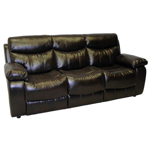 LaCrosse Sleeper Sofas Casual Styled Family Room Queen Size Sleeper Sofa