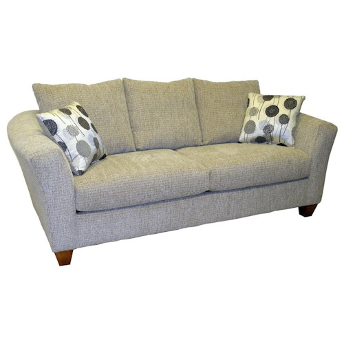 LaCrosse Sleeper Sofas  Contemporary Styled Queen Size Sofa Sleeper with 7