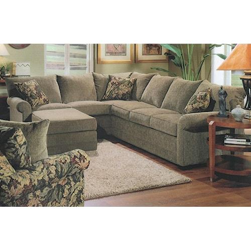 Lancer 110 L-Shape Sectional Sofa Group