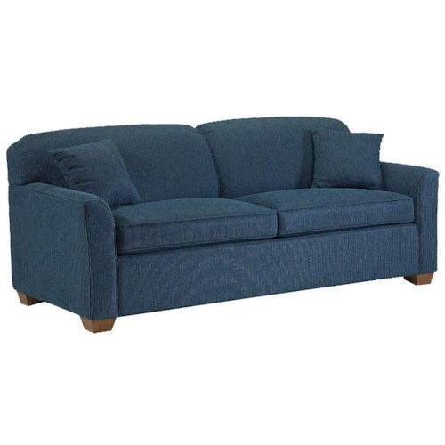 Lancer 2200 Stationary Short Sofa with Block Feet