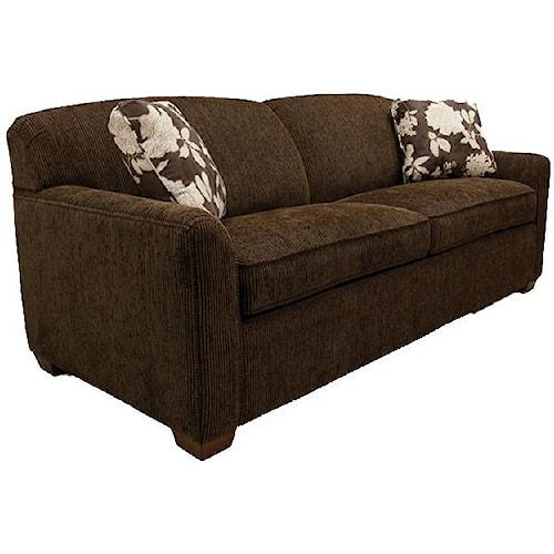 Lancer 2200 Queen Sleeper Sofa with Block Feet