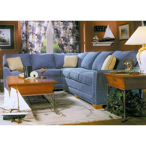 Lancer 2210 L-Shape Sectional Sofa Group