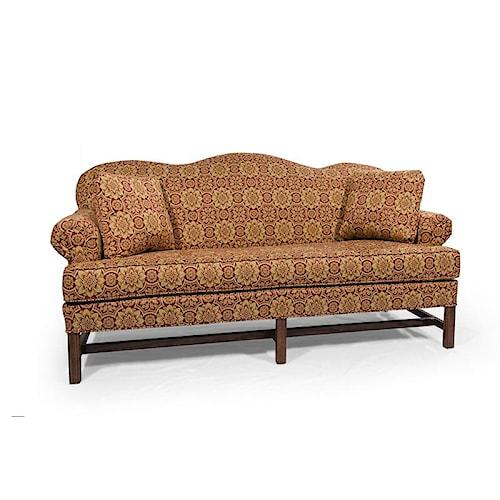 Lancer HomeSpun High Back Sofa with Rolled Arms