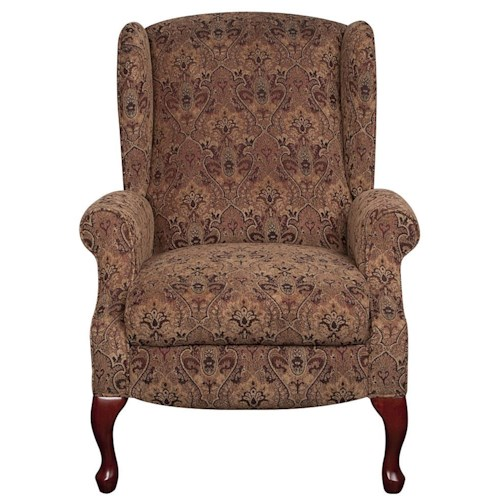 Lane Nancy Wing High Leg Recliner