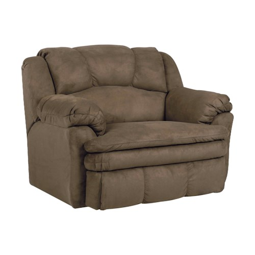 Lane Cameron Casual Cameron Power Snuggler® Recliner with Plush Pillow Arms