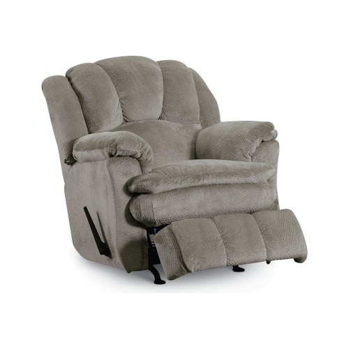 Lane Cameron Casual Cameron Glider Recliner with Plush Pillow Top Arms