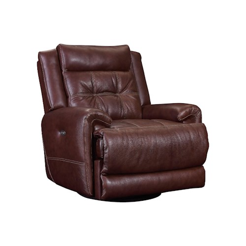 Lane Corsica Casual Glider Rocker with Tufted Seat Back