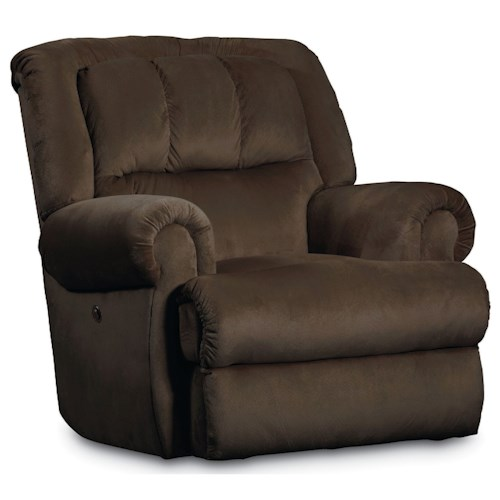 Lane Evans Glider Recliner with Double-Padded Seat