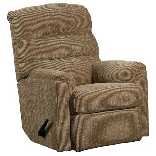 Lane Recliners Casual Styled Rocker Recliner for Comfortable Living Rooms