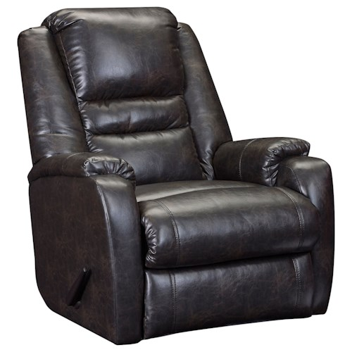 Lane Galileo  Transitional Rocker Recliner with Zero Gravity