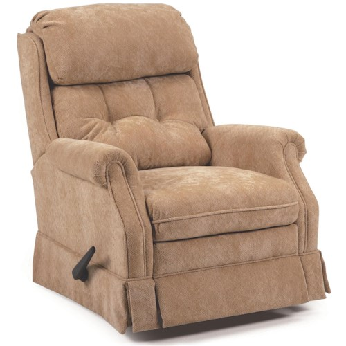 Lane Glider Recliners Carolina Swivel Rocker Recliner