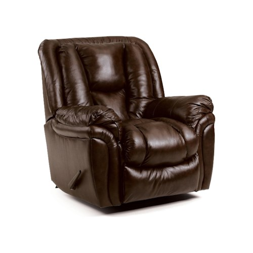 Lane Glider - Lane Saturn Glider Recliner with Swivel Mechanism