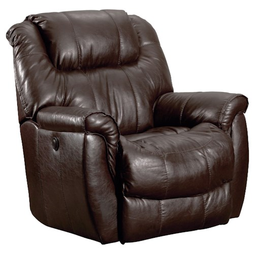 Lane Glider Recliners Montgomery Casual and Comfortable Glider Recliner