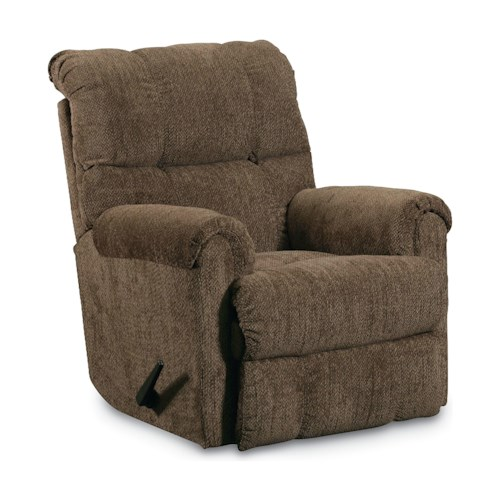 Lane Griffin Casual Griffin Rocker Recliner With Swivel