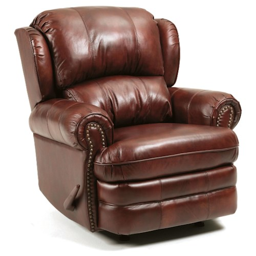 Lane Hancock Traditional Styled Swivel Recliner