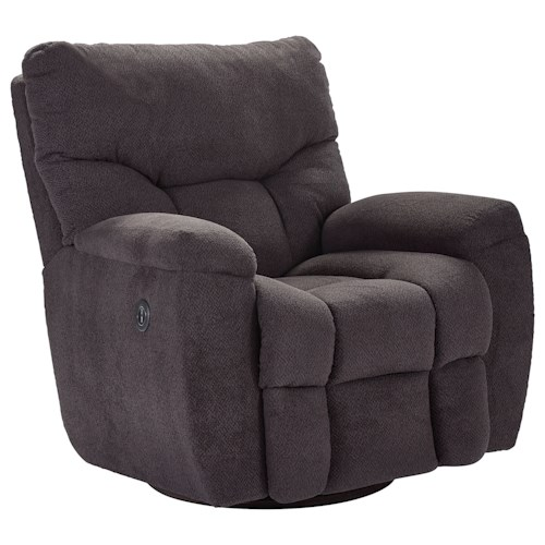 Lane Houston Rocker Recliner with Full Chaise Footrest
