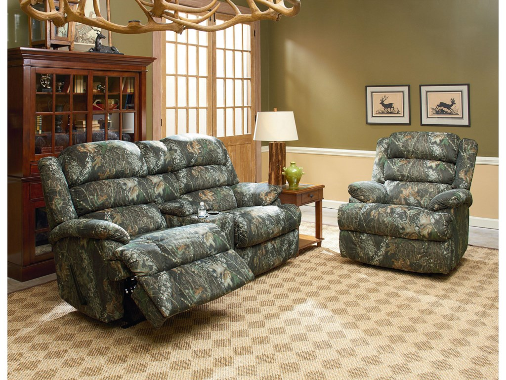 Shown with Dual-Recline Console Loveseat