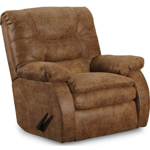 Lane Laredo 90 Casual Swivel Glider Recliner