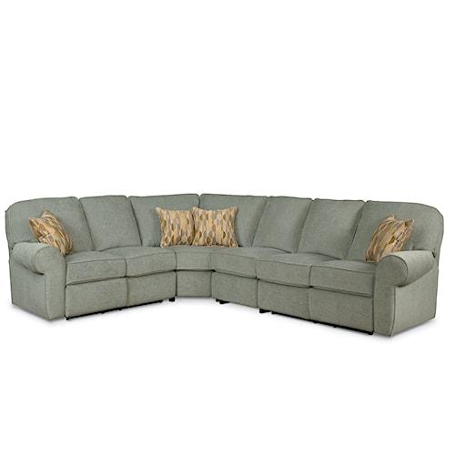 Lane Megan 4 Piece Sectional Sofa