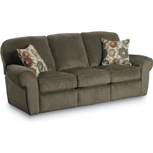 Lane Molly  Transititional Double Reclining Sofa