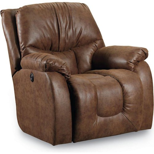 Lane Orlando Casual Power Rocker Recliner