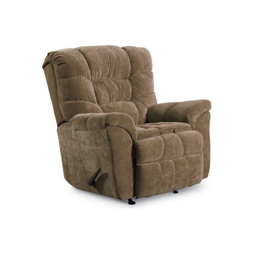Lane Rocker - Lane Extravaganza Rocker Recliner with Multi-Channel Seat Back