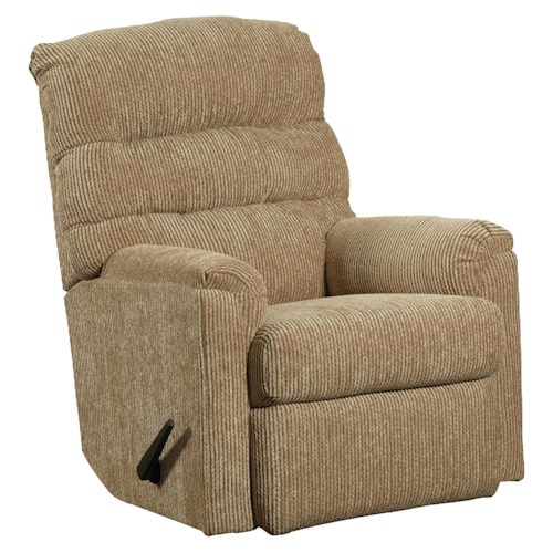 Lane Rocker Recliners Casual Styled Rocker Recliner for Comfortable Living Rooms