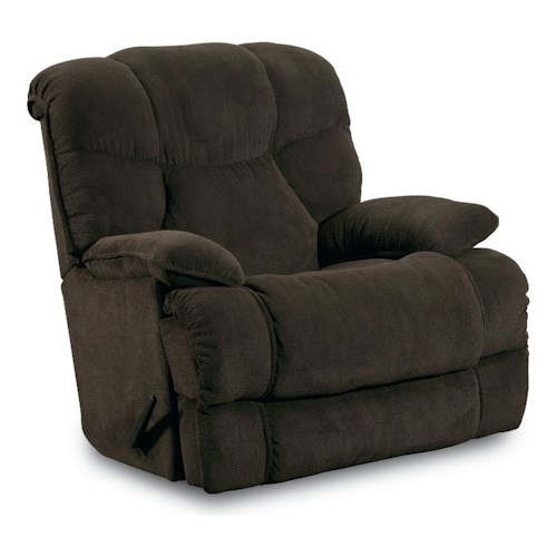 Lane Rocker Recliners Luck Power Rocker Recliner