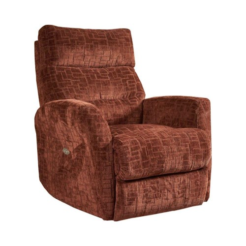 Lane Salsa Transitional Wallsaver Recliner with Flared Arms