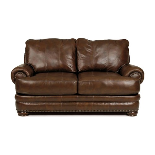 Lane Stanton - Lane Stationary Loveseat with Nailhead Trim