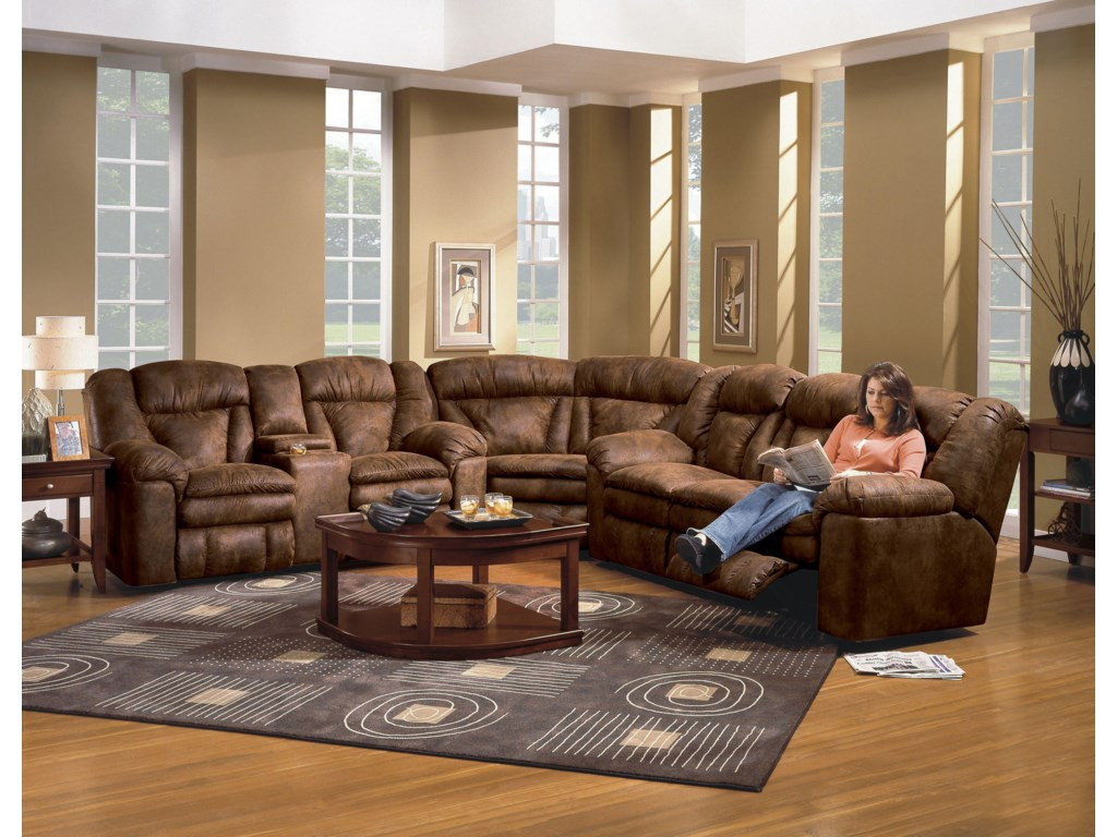 Shown as Modular Component in Sectional Sofa Configuration