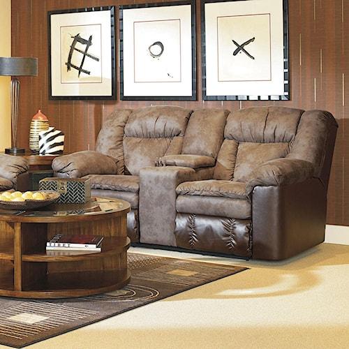Lane Talon - Lane Double Reclining Console Sofa