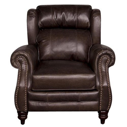 Lane Teagan Leather-Match* Low Leg Recliner