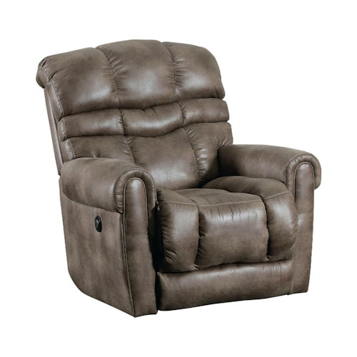 Lane Trenton Casual Wall Saver Recliner with Padded Seat Back