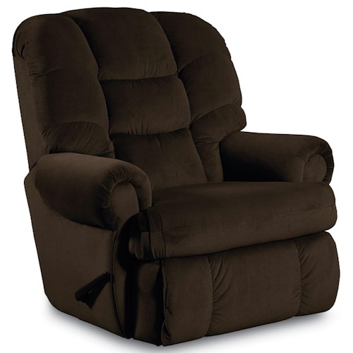Lane Wallsaver Recliners Plush Stallion Wallsaver Recliner with Rolled Arms