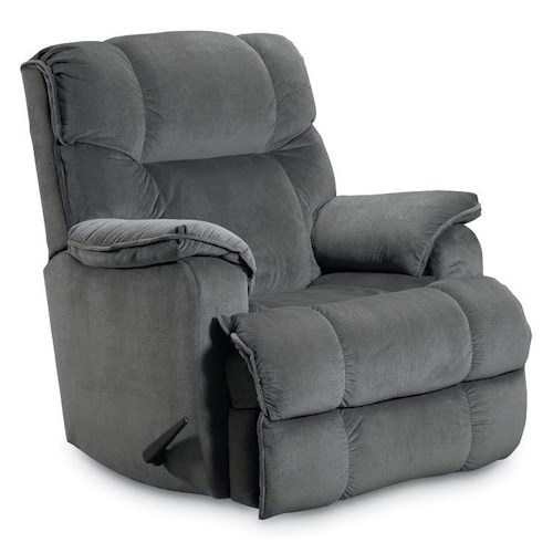 Lane Wallsaver Recliners Rancho Wall Recliner with Line-Tufting