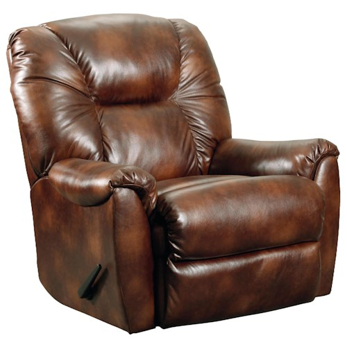 Lane Webb  Comfortable Rocker Recliner with Casual Living Room Style