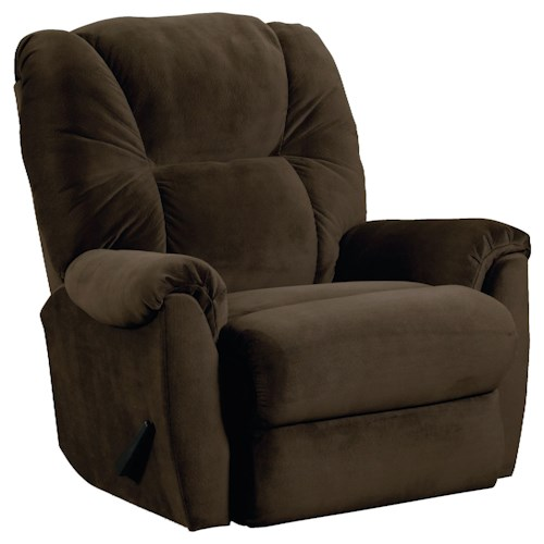 Lane Webb  Casual Rocker Recliner with Heat and Massage