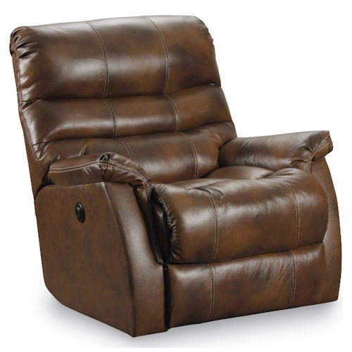 Lane Express Garrett Transitional Power Rocker Recliner